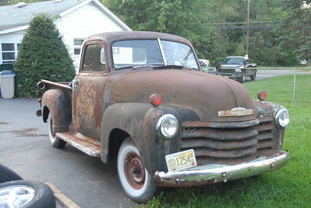 1949 Chevy truck | Flickr - Photo Sharing!