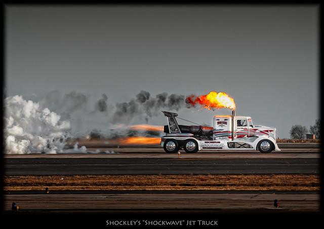 Shockley's Shockwave Jet Truck