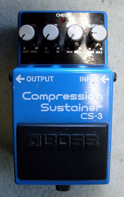 Photo:Boss CS-3 Compression Sustainer By Roadside Guitars