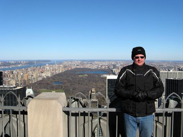 Me on the Rockefeller Center Observation Deck | Flickr - Photo Sharing ...