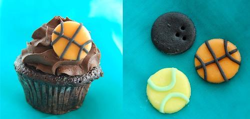 Sports Buff Cupcakes