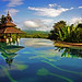 Infinity Edge Pool / Anantara Golden Triangle Resort / Chiang Rai / Thailand