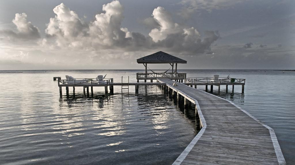 the dock, hammock heaven