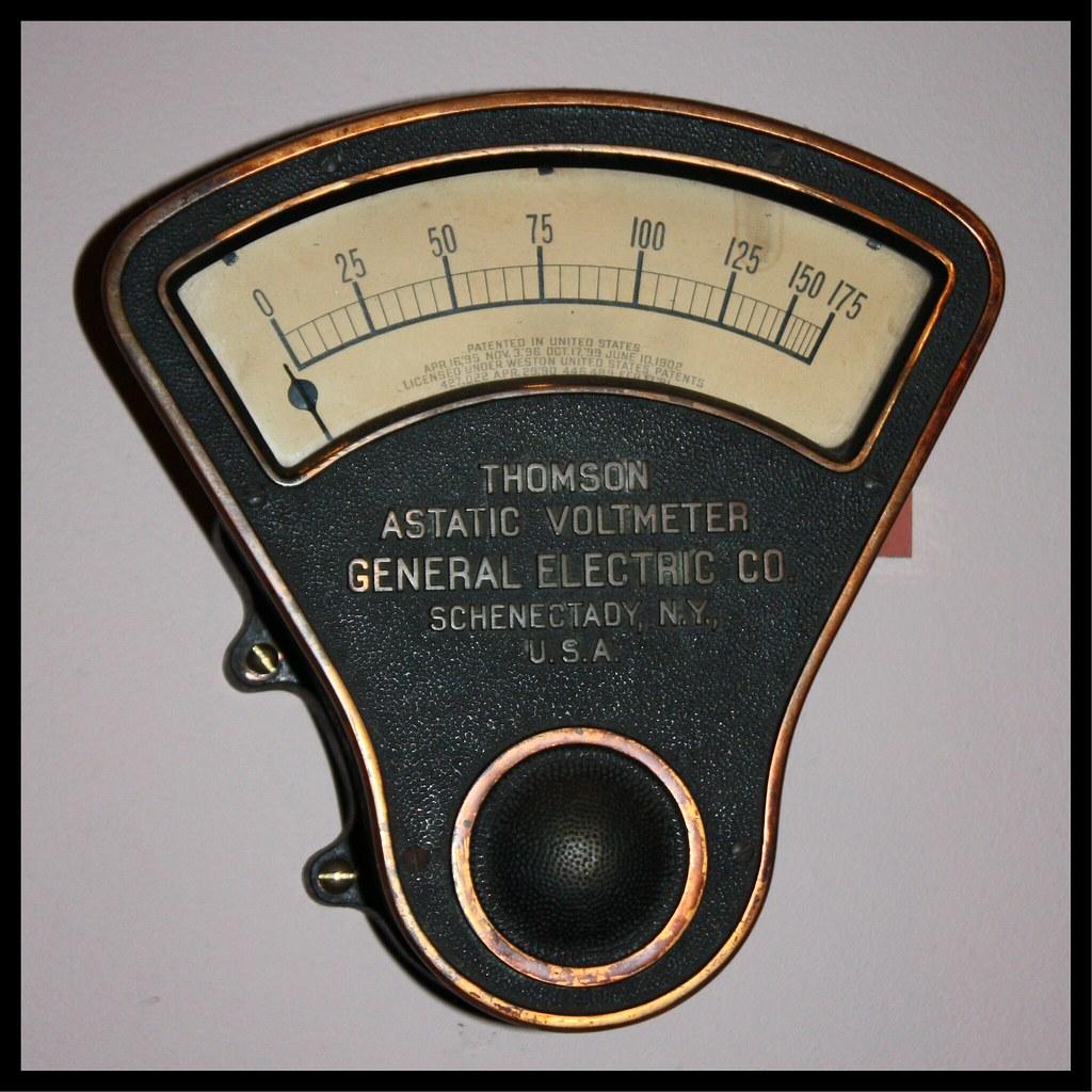 Thomson Astatic Voltmeter