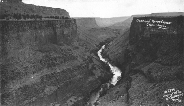Crooked River Canyon in central Oregon