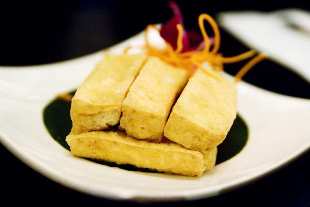 Crispy Fried Tofu | Galanga deep fried tofu with sweet-hot ...