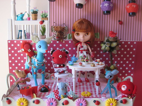 Garden Tea Party with Woodland Friends!