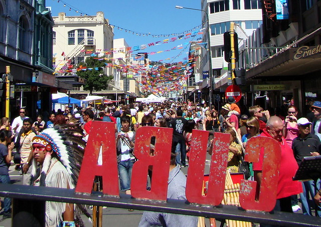 The Cuba Street Carnival in Wellington