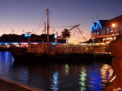 Perfect boats, Lights Fishing Boat Harbour Fremantle