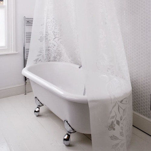 Circular and oval shower curtains rods - ShopWiki