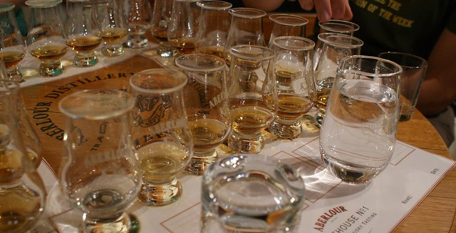 My 6 drinks at the Aberlour Distillery tasting