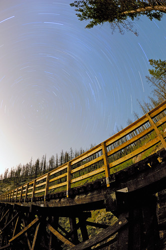 Trestle Star Trails | by Tomaocron