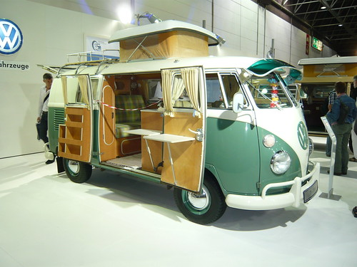 salon du camping car d sseldorf video images etc old droppers. Black Bedroom Furniture Sets. Home Design Ideas