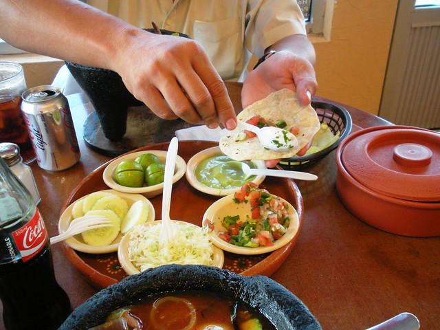 Authentic Mexican Food in Agua Prieta, Mexico