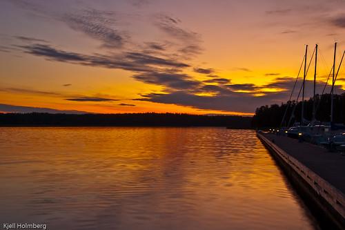 sunset finland espoonlahti laurinlahti soukka sökö klobben esboviken nikkor18200mmf3556gvr nikond40 soukanvenekerho larsvik