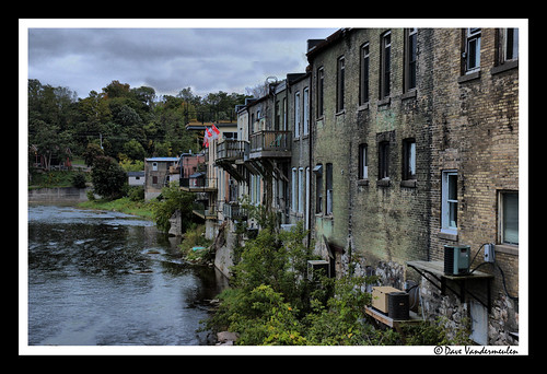 ontario paris fall stone architecture evening nikon riverside cloudy d70s september grandriver dull dynamicphotohdrbrick