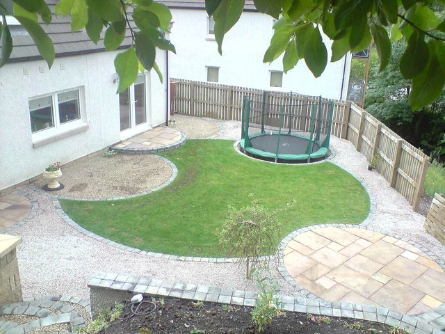 Circular garden design near glasgow flickr photo sharing for Garden design glasgow