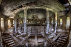 abandoned church P