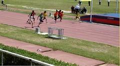 Sana qui remporte cette course de 60m et qui lui a permis d'accèder à la médaille de bronze au niveau national (Tunisie) dans la catégorie benjamine (11-13 ans).