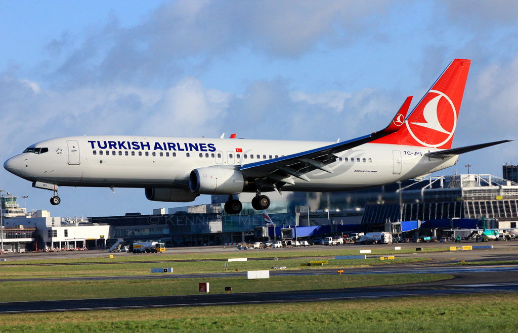 TC-JHV - B738 - Turkish Airlines