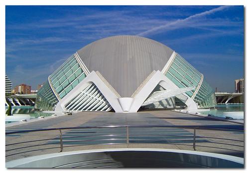 Panorámica L´Hemisféric, Ciudad de las Artes y las Ciencias de Valencia, Spain, by jmhdezhdez