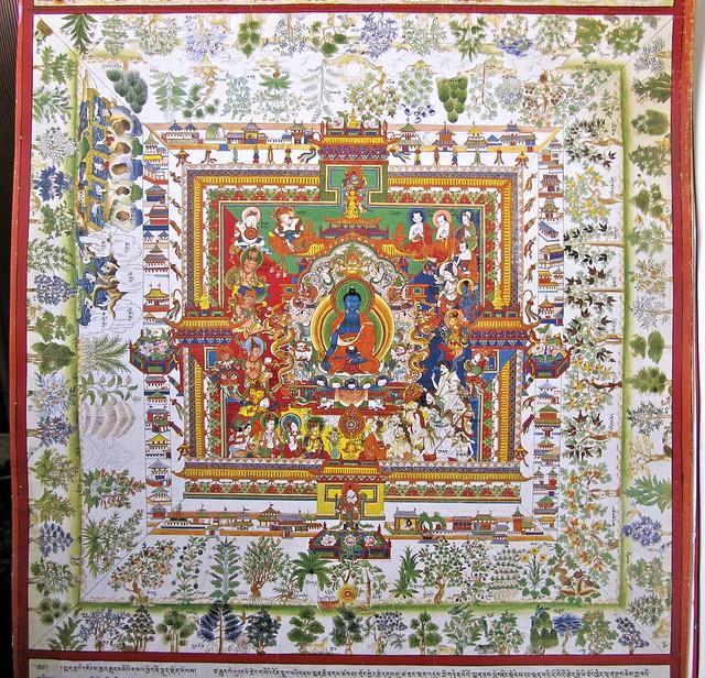 Tibetan Tanka - Detail