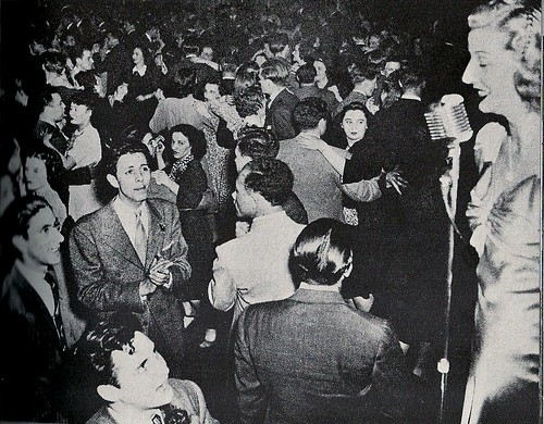 (Date N/A) United Mine Workers Ball @ Hotel Diplomat (by Weegee)