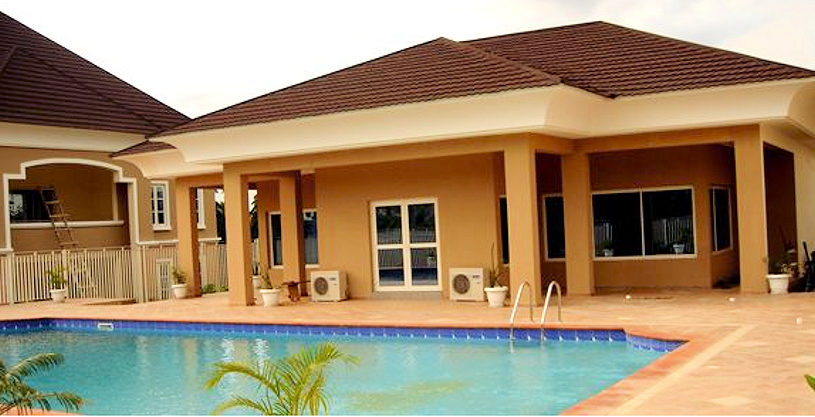Pictures of modern houses in nigeria my web value for Nigerian home designs photos