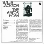 Willis Jackson > The Gator Horn [back liner]