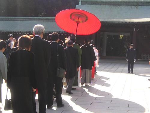 Japanese wedding (Meiji jingu)