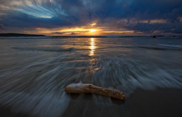 Dillon Beach Sunset After Storm 101