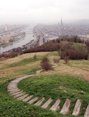 Rouen from Saint Catherine's Hill