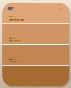 Behr Paint Color Dry Brown