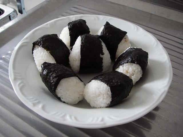 Smoked Salmon Onigiri