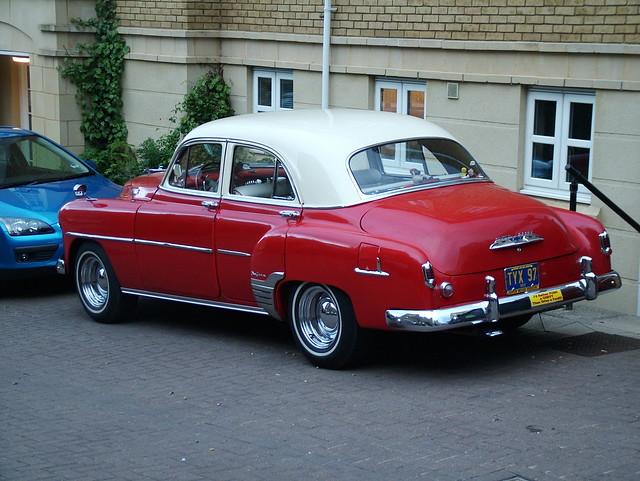 1952 chevrolet deluxe 4 door sedan for sale hemmings for 1952 chevrolet styleline deluxe 2 door sedan