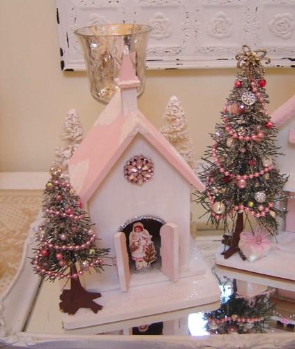 Pink Christmas Church Flickr Photo Sharing