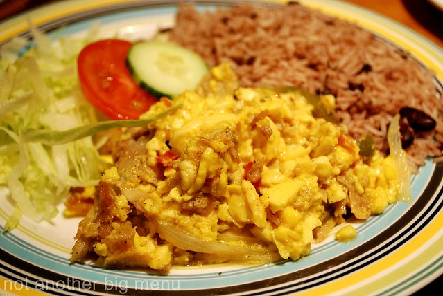ackee and rice and peas