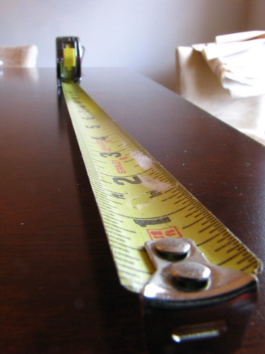 Leading Lines - Tape Measure