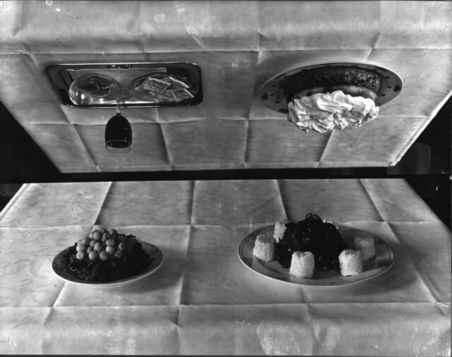 Four photographs of food dishes taken by Troy in 1916 for Miss Canon for ...