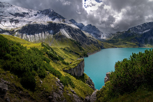 berg see österreich alpen brand bergsee hdr aut wanderung vorarlberg photmatix mywinners superaplus aplusphoto