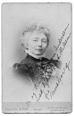 Nina Grieg portrait