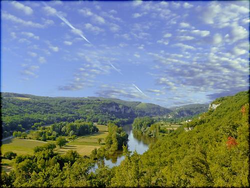 sky france clouds landscape lot rivière ciel nuages paysage vallée midipyrénées célé mywinners unature francelandscapes departementdulot