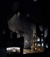 gottfried böhm, architect: maria königin des friedens pilgrimage church, neviges, germany 1963-1972