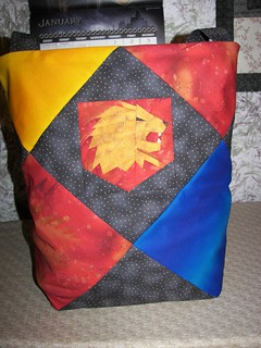 Hogwart's Unity Tote Bag Side 1