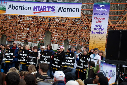 abortion protest in San Francisco - 071