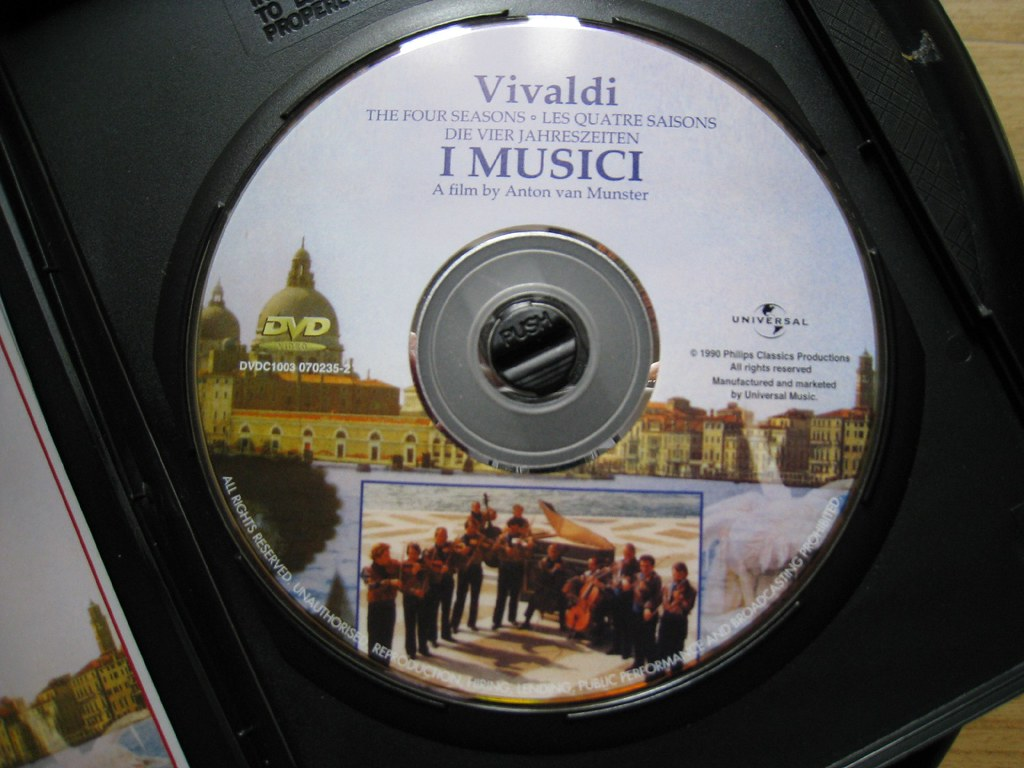 vivaldi 4 seasons dvd