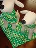 St. Patty's Day dog bandanas by Pinstripe Paws