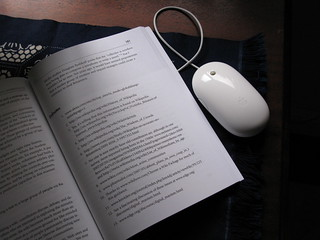 book and mouse