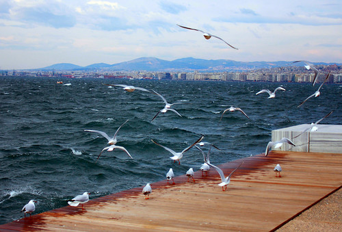 The waterfront of Thessaloniki..by Eleni