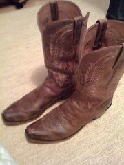 outdoor shoe, brown, footwear, shoe, leather, cowboy boot, boot,